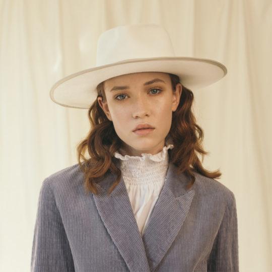 cappello melbourne atome bianco